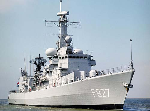 Фрегат УРО Karel Doorman